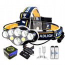 7 LED HEADLAMP USB BATTERY