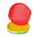 Round plastic tray, 35 cm MIX color