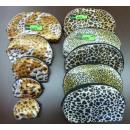 Großhandel Reiseartikel: Set von fünf  Kosmetikerinnen 5 in 1 Leopard