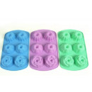 wholesale Casserole Dishes and Baking Molds: Silicone baking  mold for muffin 6 pieces