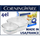 wholesale Casserole Dishes and Baking Molds: Corning Ware casserole pot 4 el.