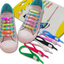 wholesale Shoes:Silicone shoe laces