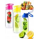 Palack vizes  palackot betéttel a gyümölcs infuser
