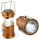 SOLAR LED LIGHT POWER BANK CAMPING USB TENT