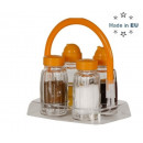 Spice set 4 pcs. with stand
