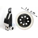 Wheel, trolley wheels for shopping, 16cm bags