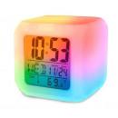 Großhandel Uhren & Wecker: ALARMUHR LCD THERMOMETER BELEUCHTUNG KAMELEON
