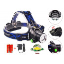 Headlamp LED ZOOM  CREE XM-L T6 Headlamp