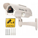 Dummy camera solar flashing LED camera