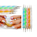 Double-sided nail probe - set of 5 items
