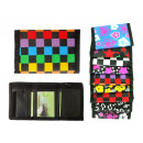 Wallet with velcro 11.5cm