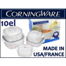 groothandel Huishouden & Keuken: Corning Ware casserole pot 10 el.