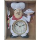 wholesale Clocks & Alarm Clocks: Watch Clock Chef Figurine