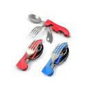 wholesale Cutlery: SCISSOR FORK SPOON KNIFE TOURIST