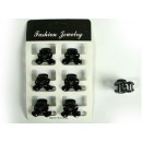 set of 6 pieces of claw clamp clips