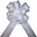Decorative white bow