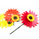 wholesale Garden & DIY store: Windmill pinwheel  garden on a stick 35cm