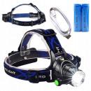 LED HEADLIGHT ZOOM CREE XM-L T6 HEADLAMP