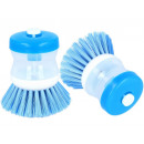 Cleaning brush  with liquid dispenser