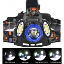 HEADLIGHT LED ZOOM CREE 3x XM-L T6 HEADER