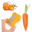 Peeler for vegetable sharpener