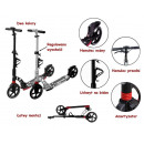 wholesale Toys: FOLDING SCOOTER two-wheeled scooter