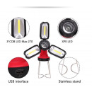 Multifunctional LED + COB lamp