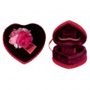 wholesale Mirrors:Heart Jewelry Box, Red