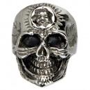 ingrosso Anelli: acciaio inox Biker  anello, cranio, dimensione 17