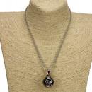 Großhandel Ketten: Modische Halskette, Silber