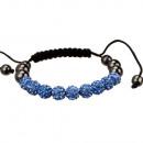 Macht armband, 10mm, Blauw