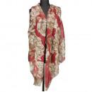 wholesale Fashion & Apparel: Neckerchief, red-brown, 180x90cm