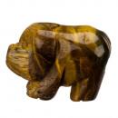 Graveren varken, 40mm, Tijgeroog