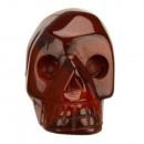 Gegraveerde schedel, 36mm, Mahogany Obsidian