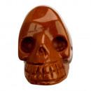 Gegraveerde schedel, 48mm, Gold River