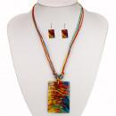 ingrosso Gioielli & Orologi: Set di collana con  pendente a guscio e orecchini