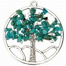 groothandel Home & Living: Trailer Tree of Life, synth. Turquoise