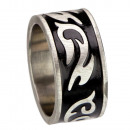 Biker ring with oversize, sizes 24 + 25 size 24