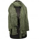 Trendy bandana, 185x77cm, Green