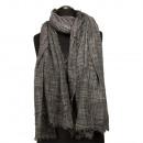 Trendy bandana, 185x77cm, antraciet