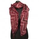 Trendy bandana, 180x90cm, Red