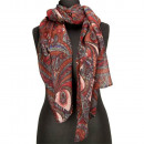 Special price: scarf, 180x70cm, red