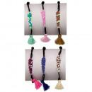 grossiste Bijoux & Montres: Set: 12 bracelets en plumes, cuivre