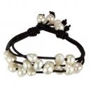 ingrosso Gioielli & Orologi: Esclusiva catena di braccioli con perle coltivate