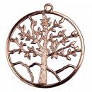 Hanger Tree of Life, 57 mm, Rosegold