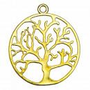 Hanger Tree of Life, 44 mm, goud