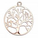 Hanger Tree of Life, 44 mm, Rosegold