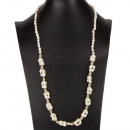 Long shell necklace, 86cm