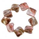 mayorista Joyas y relojes: Pulsera nácar, color especial: marrón-rosa