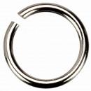 Großhandel Zubehör & Ersatzteile: 100 Binderinge, 925 Silber, 0,7x3,4mm